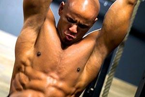Maximumprinzip-Workout Oberkoerper Bauch